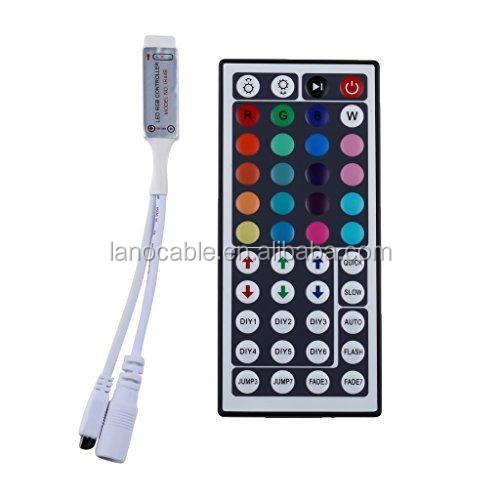 44 key IR remote controller 3 channel RGB led controller for 5050 3528 strip lights