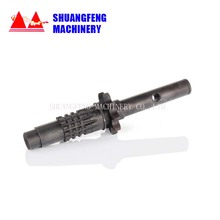 High frequency auger shaft