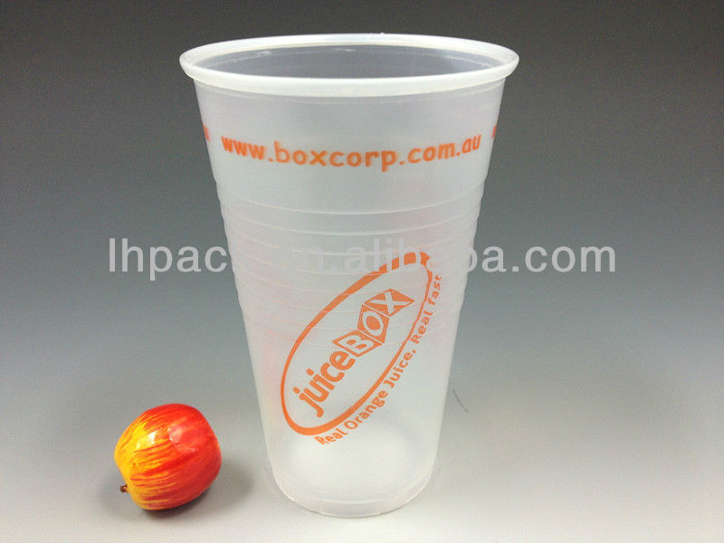 250ml Disposable Plastic Cup For Juice