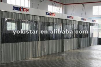 Prep Station Is A Preparation Bay With Pvc Curtains
