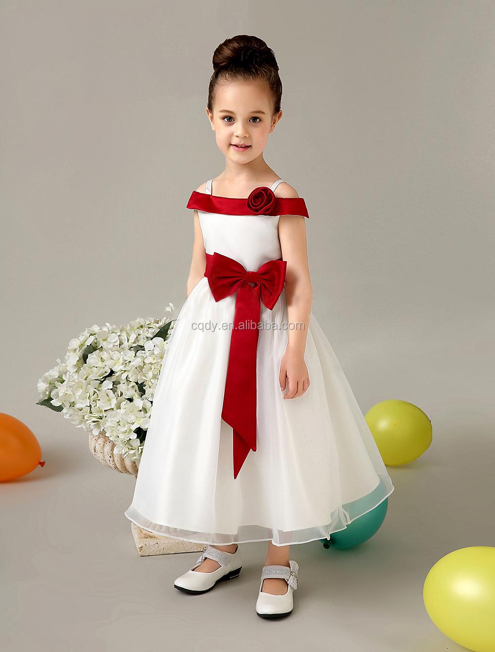 c9c8aafc6829 New Arrival 2015 modern A line round neck long flower girl dresses fancy  dresses for baby