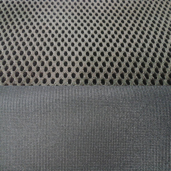 Black Polyester Car Seat Fabric
