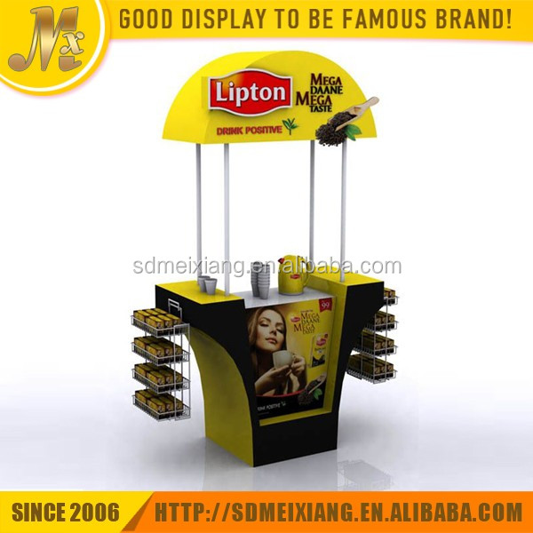 MX-SP083 eye catching wood material tea bag display stand