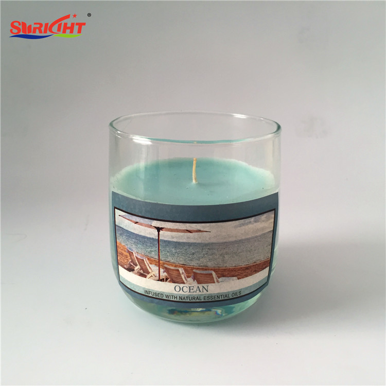 Classic Home Decorative Free Design Private Label Candle with Natural Scented