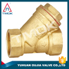 brass check valve ce certification yuhuan sanitary y filter made in China