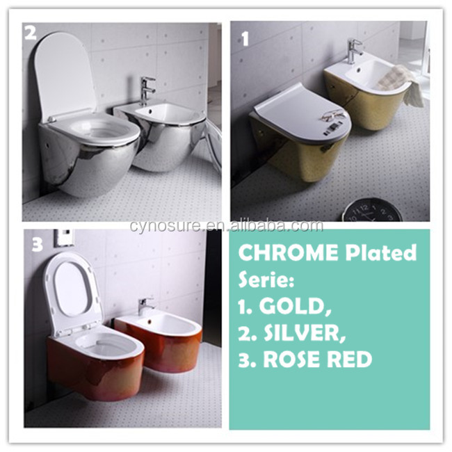 Gold Color Toilet, Gold Color Toilet Suppliers and Manufacturers at ...