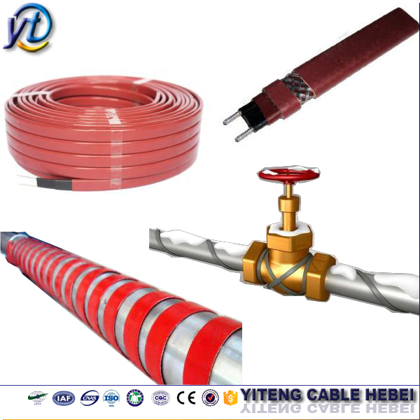 Ptc Self-regulating Pipe Heat Tracing Cable,Heating Wire For Termination on