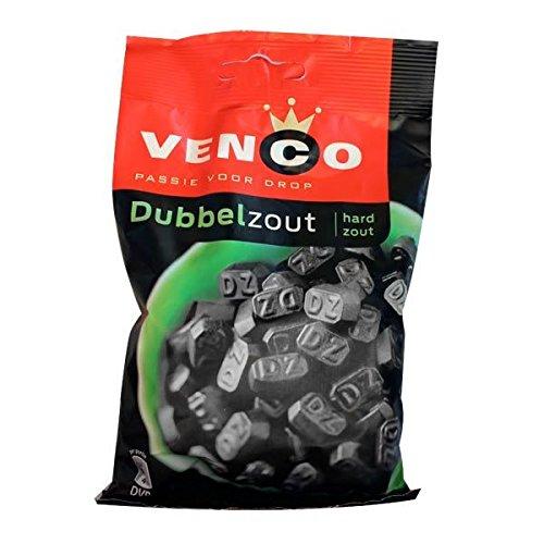 Venco Dubbel Zout DZ (Double Salt) Dutch Black Licorice 173 g 6.1 oz
