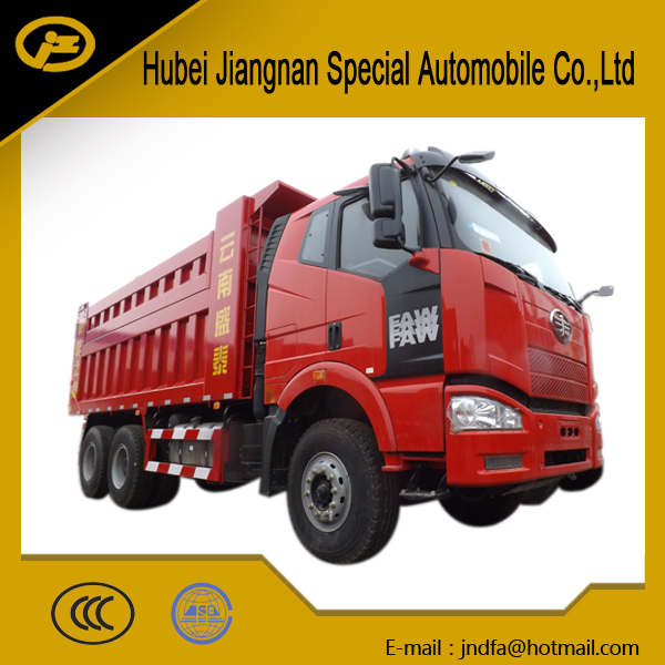 FAW truck 10 wheeler 6x4 6*4 dump truck 10 tires tipper lorry 20T 30T 40T china truck factory manufacturer 18CBM 20CBM for sale