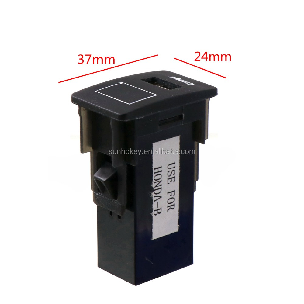 5v 21a Usb Interface Socket Car Charger And Voltage Meter Battery