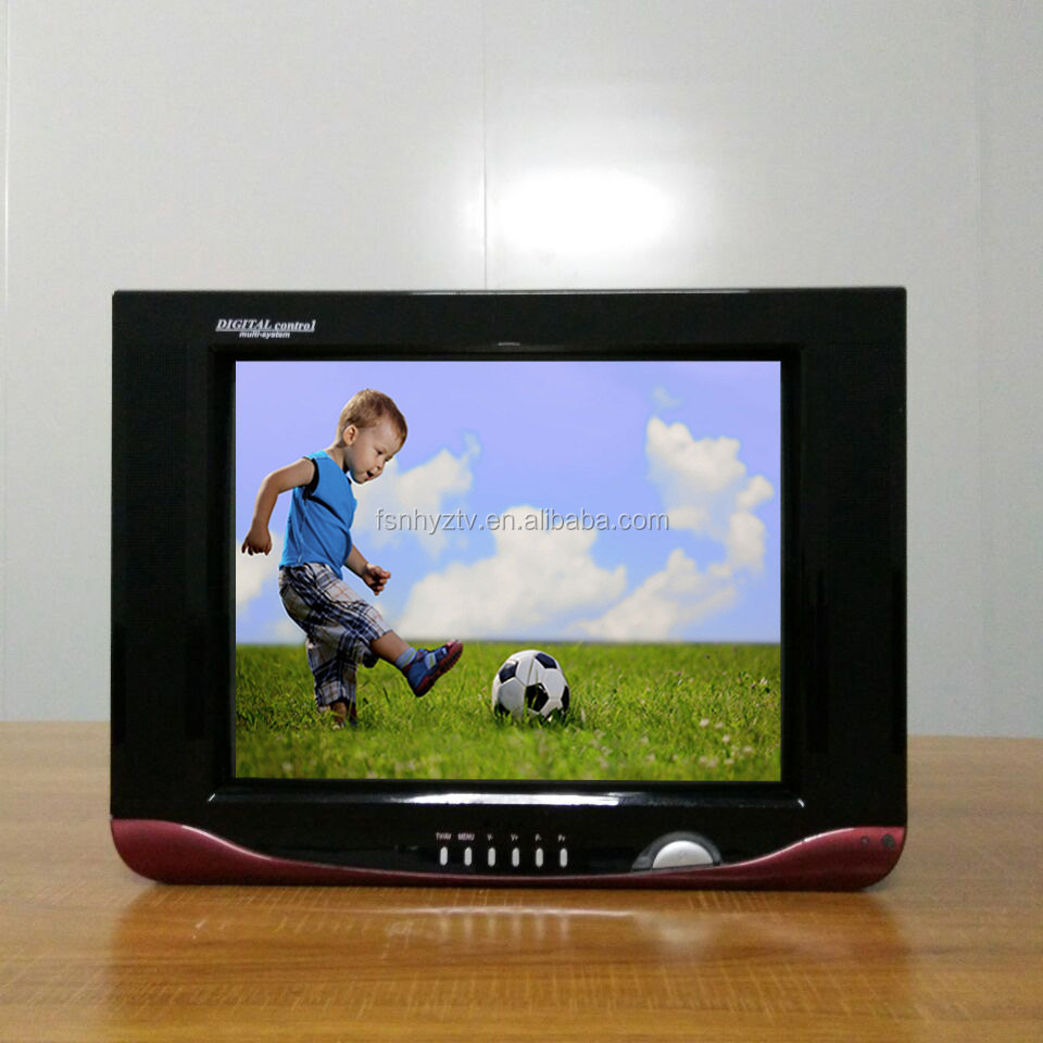14 inch 21 inch cheap ultra slim crt tv