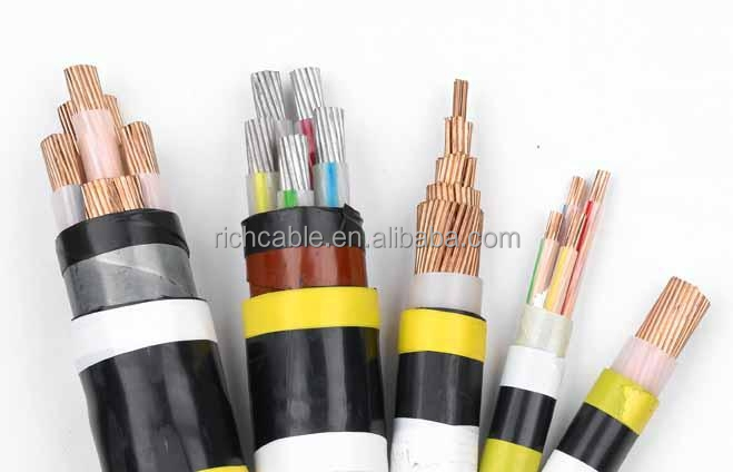 18/20(30)KV xlpe power cable electric armoured cable