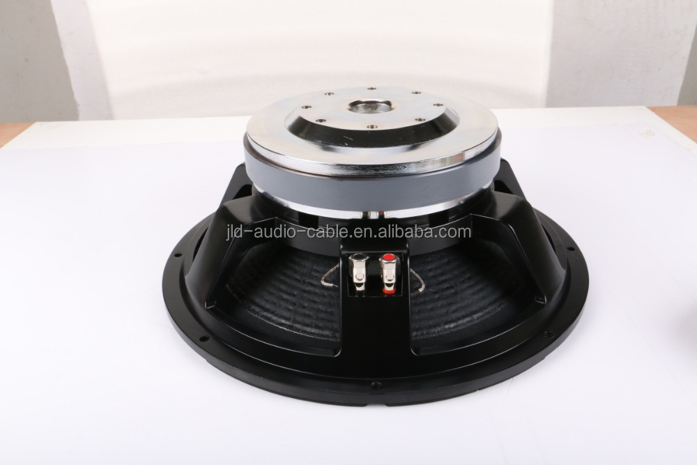 15 inch low frequency speaker with high quality 15 pa speaker professional audio with die-cast aluminum basket 550W rms