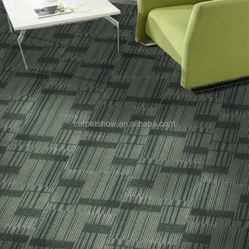 Hign Low Loop Pile Carpet Tiles Commercial Tile Nylon For Hotel And