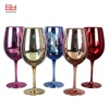 2018 Electroplating rose gold wine glass for barware