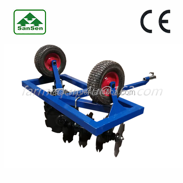 ATV Disc harrow farm land equipment ; tow behind disk harrow for sale