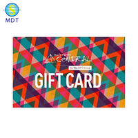 cmyk printing plastic magnetic membership/gift card with QR code