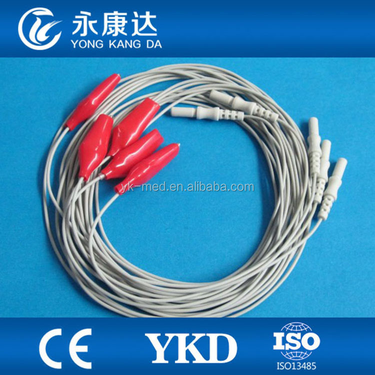 Brain EEG cable wire