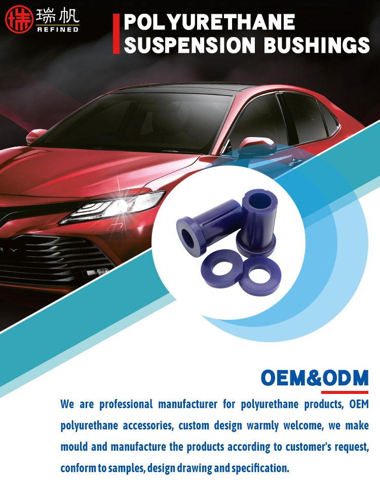Oem Polyurethane Casting Elastomer low price Low Hardness Front suspension Control Arm Lower-Inner Front  Bush Kit for CAMRY