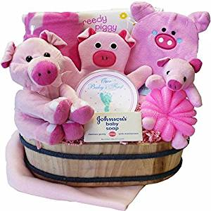 Art of Appreciation Gift Baskets This Little Piggy Baby Bath by Art of Appreciation Gift Baskets