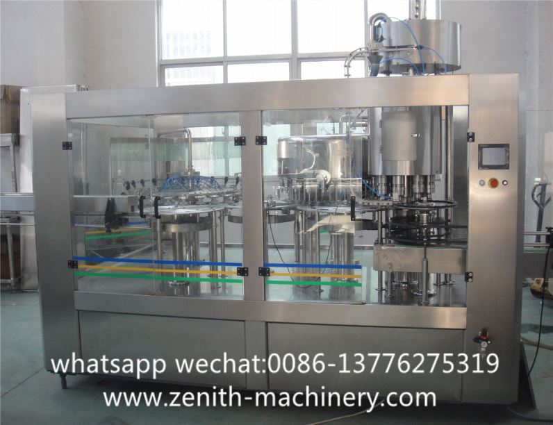 Bievo Rgz Hot Filling Machine For Full Automatic Can Tea 3-In-1Juice Or Juice Line
