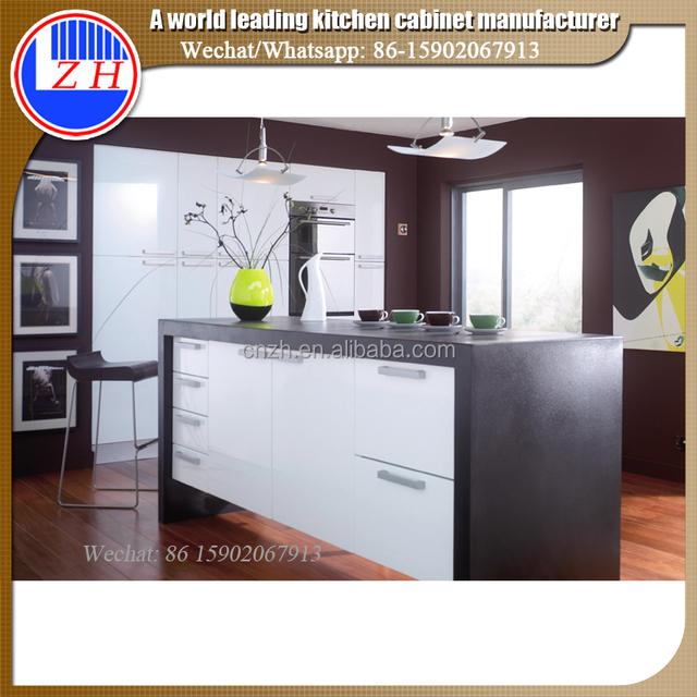 Glossy Custom Kitchen Furniture Acrylic Cabinet Door Panel