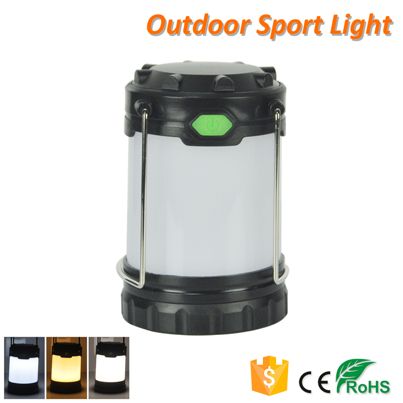 Portable Tent Light Emergency Outdoor LED Camping Light with Hook