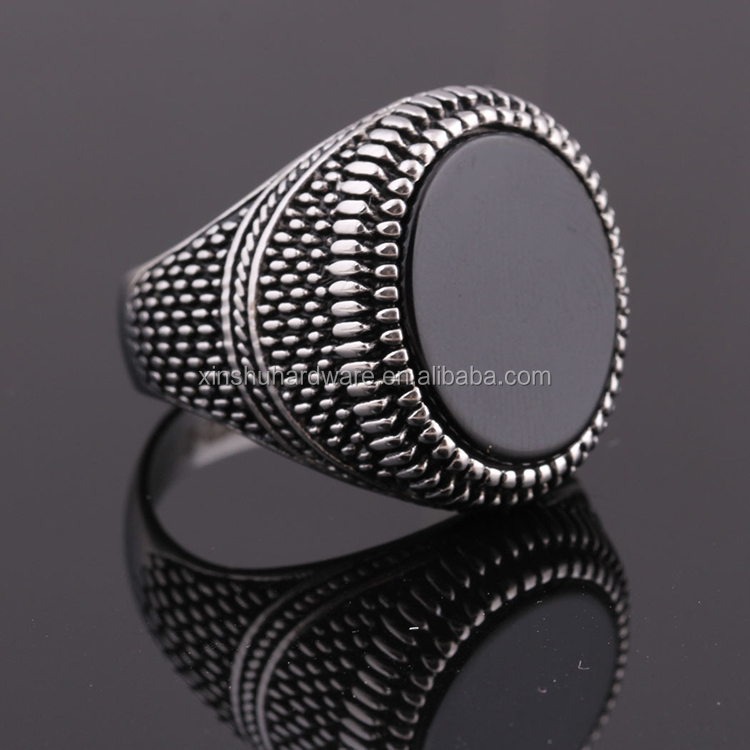Wholesale Custom Jewelry Blanks Titanium Steel Black Resin Silver <strong>Rings</strong> For Men