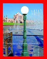 outdoor metal /aluminum street lamp posts