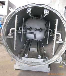 Automatic stainless steel mushroom sterilizer