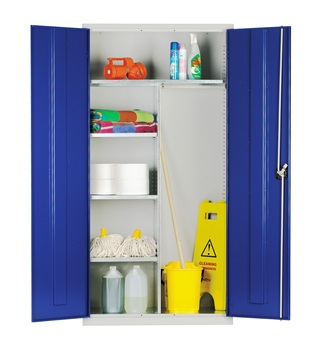 Workspace Cleaners Clothing and Equipment Steel Storage Cabinet