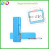 Single USB power bank 2600 mAh portable backup battery charger 5V 1A external battery menu slim disposable pack power