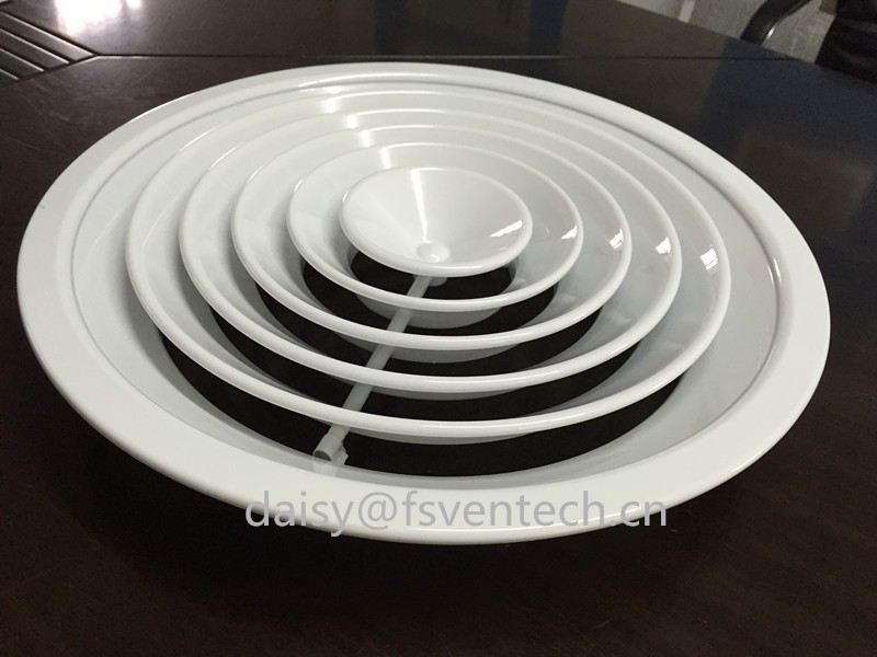 Round Air Diffuser Floor Vent Cover