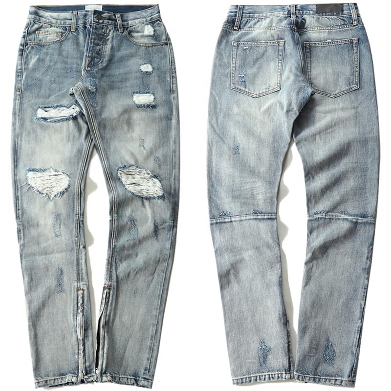 3cf05cfe24 Temor-de-dios-moda-pies-pantalones-de-los-hombres-pantalones-Vaqueros-de-Hip-Hop-del-swag  dios uspantanones de jeans