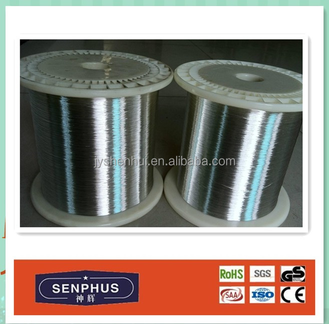 0.025mm diameter 99.9% Ni 200/Ni6 wire