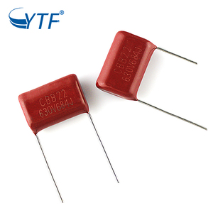 400V205 Free Sample Electronic Component From China Polyester Communication Equipment Mpp Film Capacitor
