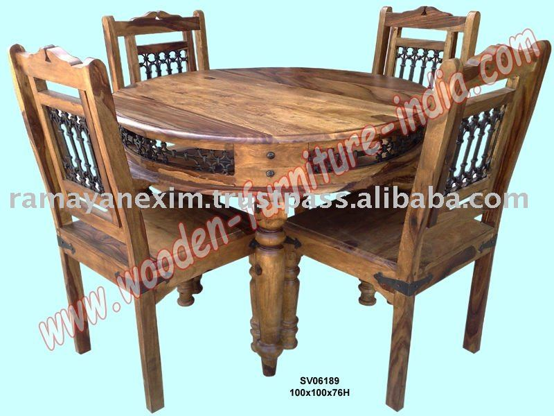 Sheesham Wood Dining Set, Sheesham Wood Dining Set Suppliers and ...