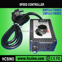 CE,FCC,SAA certification Industrial exhaust fan 230VAC single phase motor fan speed controller