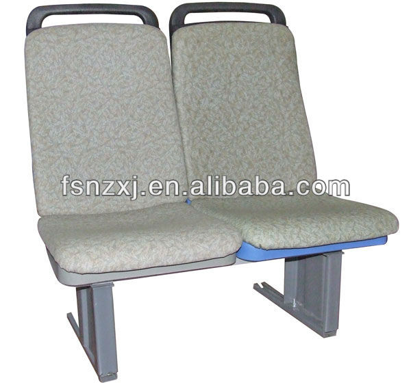 Upholstered city bus seat plastic public seat