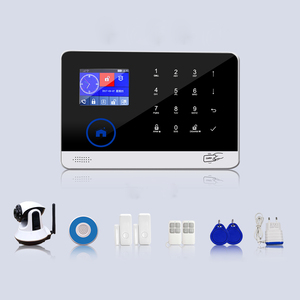 2018 Hotsale WIFI+GSM/3G+IP Cameras Home Automation Alarm system Beautiful Panel Alarm system BL-6600