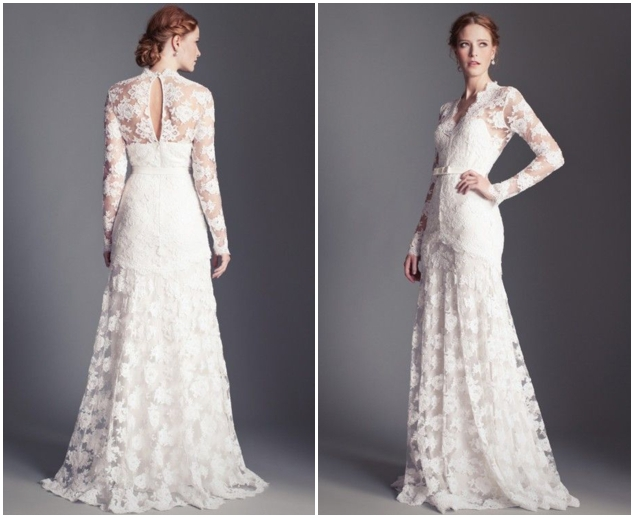 Lace Wedding Gowns: Aliexpress.com : Buy White Lace Wedding Dresses With Full