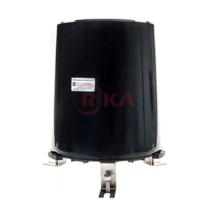 RIKA RK400-04 Cheap Pluviometer Decorative Rain Gauge Bucket Type Rainfall Sensor for Weather Station
