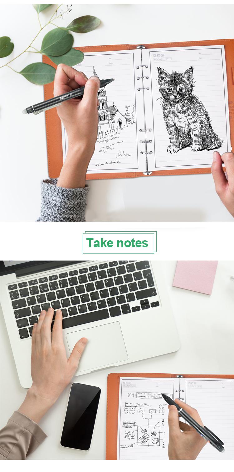 ของขวัญสมุดบันทึกสมาร์ท Notepad Reusable Sketch Book A5 Notebook Powerbank Usb Flash Drive