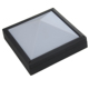 Indoor Black Rust Proof Square Outdoor Path Light 3 wall light led Square Panel light