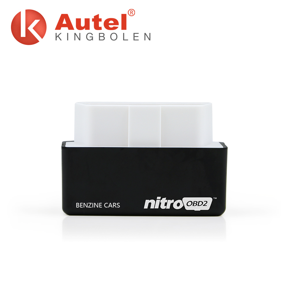 ELM327 Nitroobd2 Chip Tuning Box BENZINE keeps remapping ECU to increase engine performance