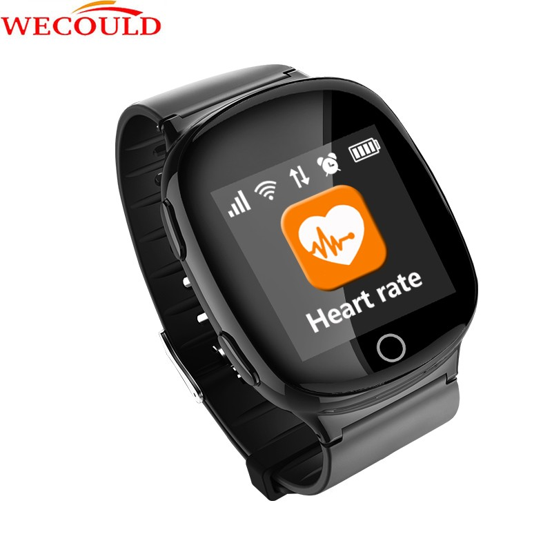 WECOULD Sport GPS Tracking GPS Smart Watch For Adult With Heat Rate Monitor 3G WIFI Runing Watch