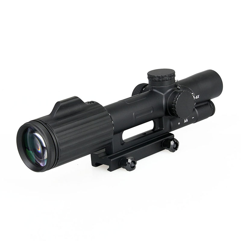 Air ปืนอาวุธเล็งยิง sight 1-6x24 BDC reticle rifle scope ส่องสว่าง FFP กล้องโทรทรรศน์ GZ1-0340