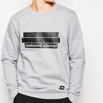 Printing High Quality Custom Crew Neck Sweatshirt Men Wholesale In