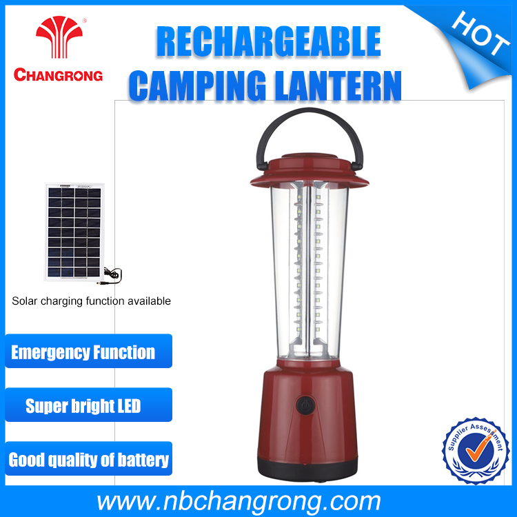 Fashion Show Camping Lighting , Rechargeable Camping Light Emergency Solar Ligh