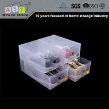 Superior quality load capacity lady s pp shoe storage box